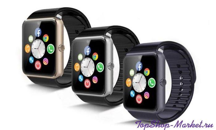 Часы Smart Watch KingWear GT08, Цвет: Серебряный