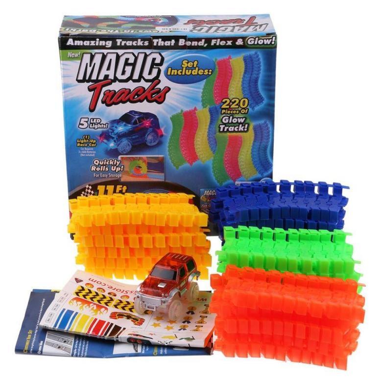 Волшебный Трек MAGIC Tracks, 220 Деталей