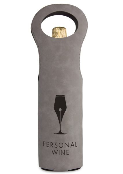 Personalized Wine Tote Gift Bag