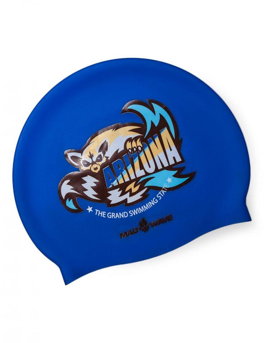 Шапочка для плавания силиконовая Mad Wave ARIZONA