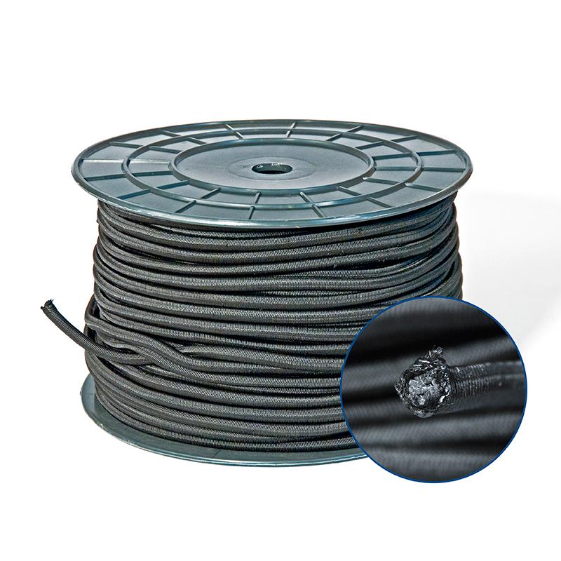 Эспандер черный 8 мм (Арт: 38.081)