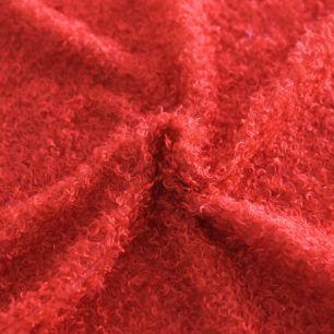 Искусственный кудрявый мех (красный)