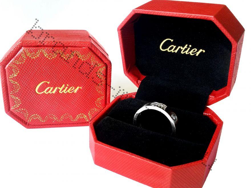 Коробка Cartier для колец и сережек