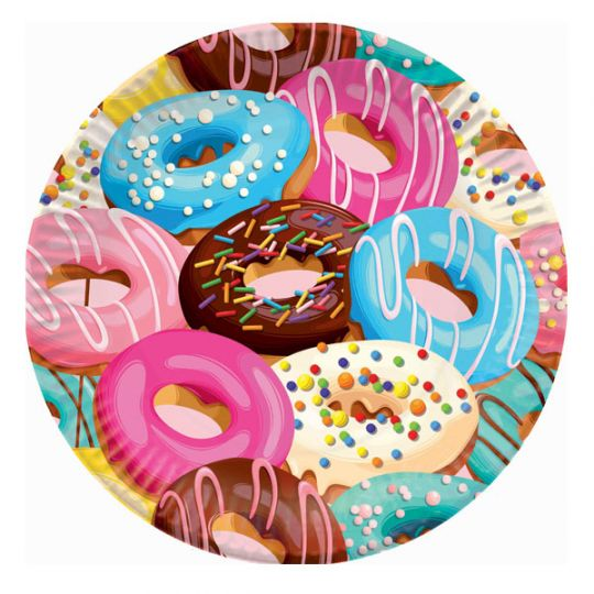 Тарелки Пончики