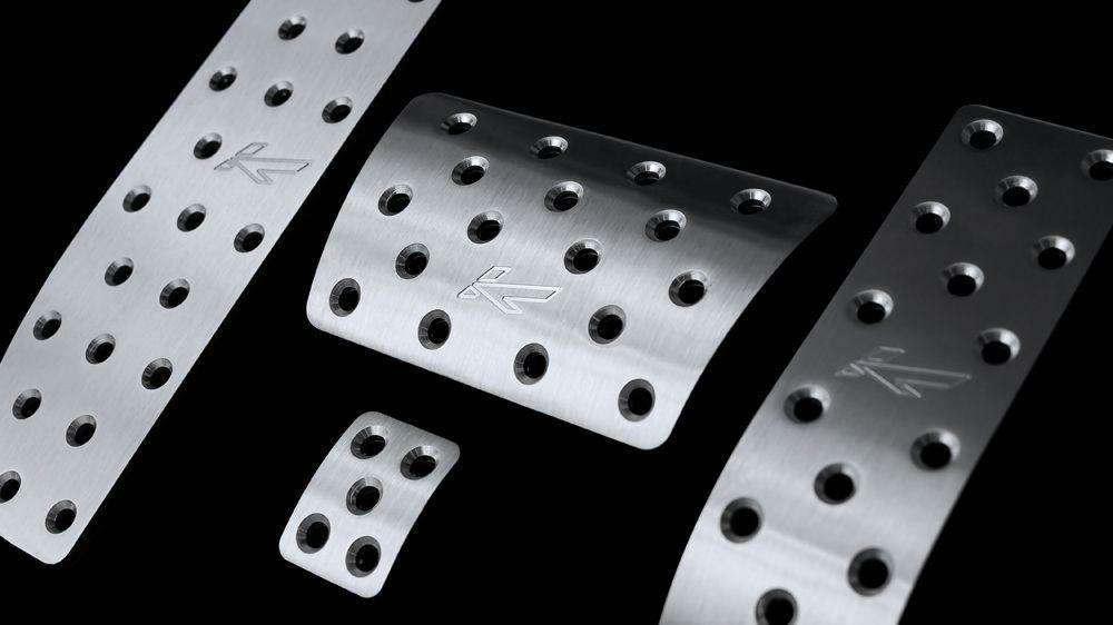 Алюминиевые педали (AUDI Q7)