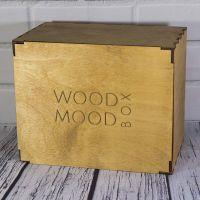 коробка из дерева с тонированием