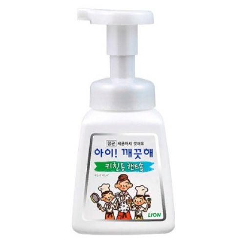 """LION Кухонное мыло-пенка для рук """"Ai - Kekute"""" с антибактериальным эффектом, аромат мяты, флакон, 250 мл"""