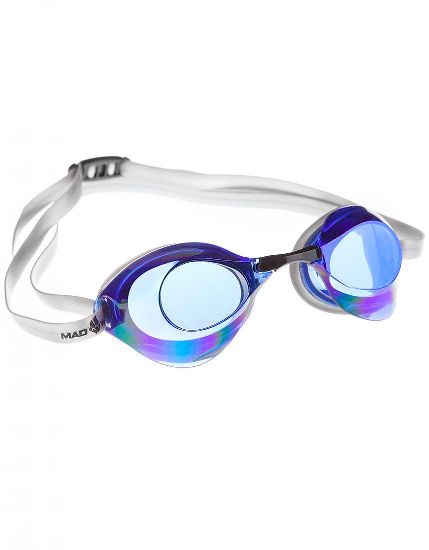 Очки для плавания стартовые Mad Wave Turbo Racer II Rainbow