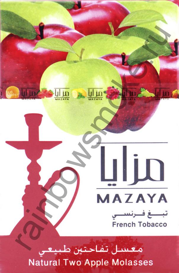 Mazaya 1 кг - Two Apple (Двойное Яблоко)