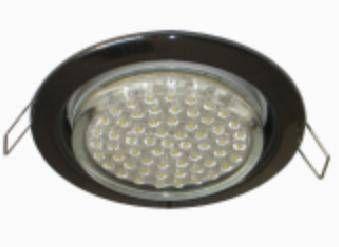 Светильник встраиваемый Ecola GX53-H2R с рефл. Черненая бронза 58x125 FN53H2ECB