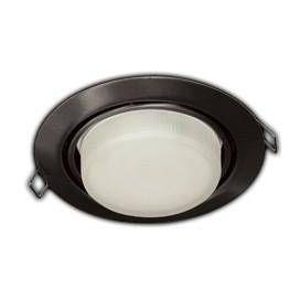 Светильник встраиваемый Ecola GX53-FT9073 поворотный Черный 40x120 FB5390ECB