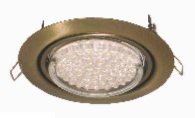 Светильник встраиваемый Ecola GX53-FT9073 поворотный Черная бронза 40x120 FN5390ECB