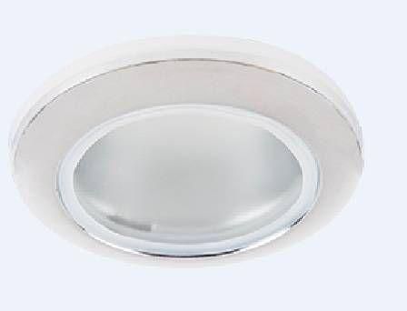 Светильник встраиваемый Ecola DL80 MR16 GU5.3 IP65 Хром 32x93 FC1680EFY
