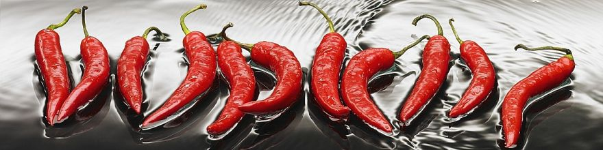 Фартук для кухни «Перцы» ВИВАТ