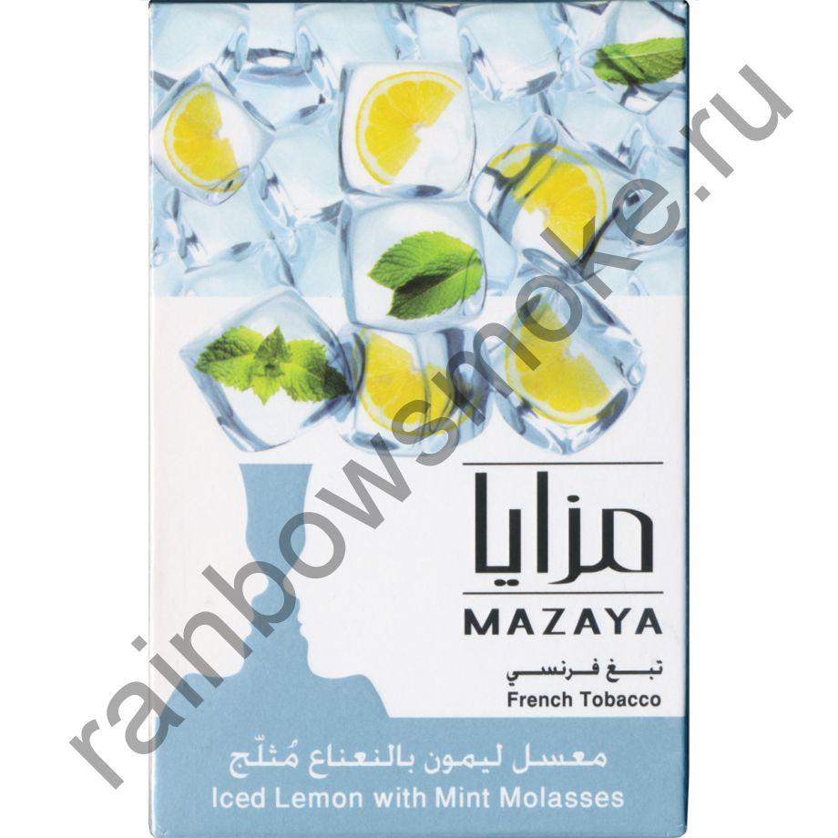 Mazaya 1 кг - Ice Lemon Mint (Лимон с Мятой и Льдом)