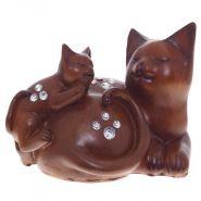 Фигурка декоративная кошки, L17 W13 H12см (арт. 226624)