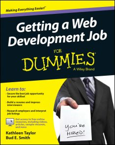 Getting a Web Development Job For Dummies