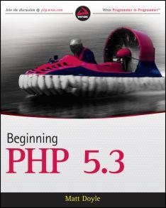 Beginning PHP 5.3