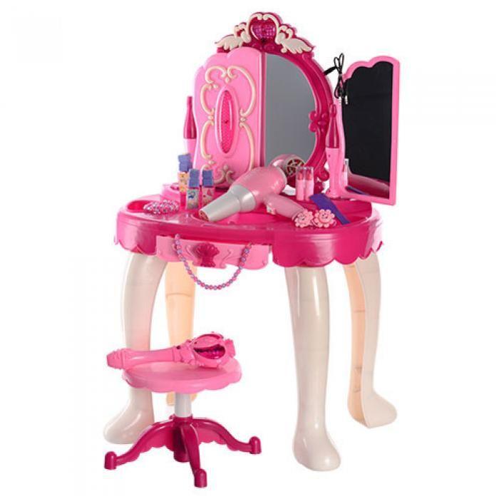 008-18 Детский туалетный столик трюмо игровой с MP3 светом, музыкой и волшебной палочкой