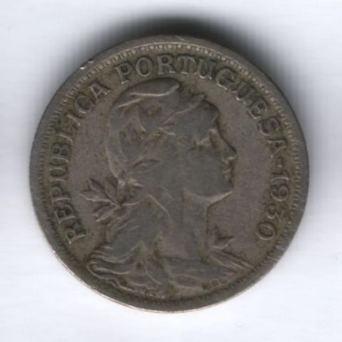 50 сентаво 1930 года Португалия, редкий год
