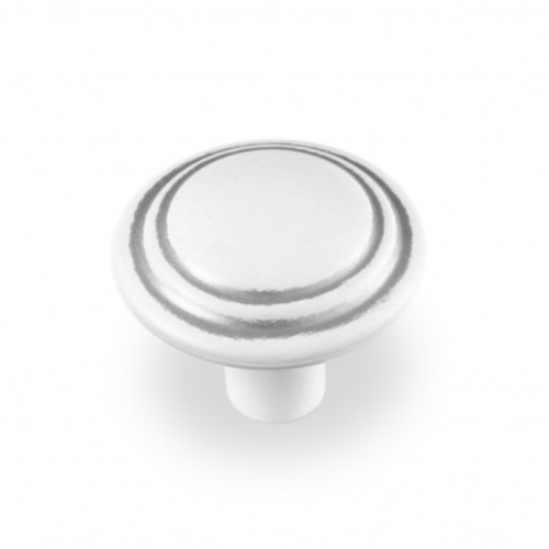 Ручка-грибок FВ-060 000 серебро прованс/9003 белый матовый (TЗ)
