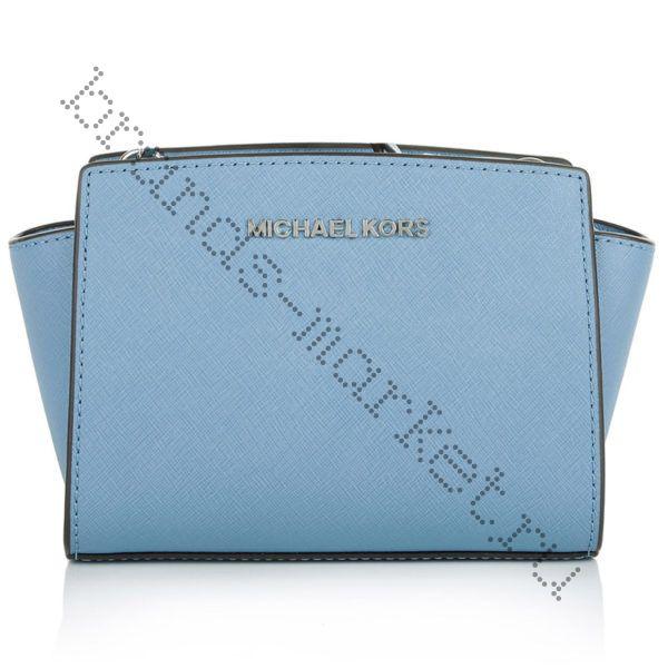 Michael Kors Selma Mini (light blue)