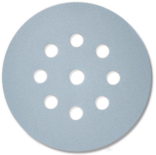 Sia 1948 Siaflex Абразивные круги, 9 отверстий, 125мм., P280, (пачка 100 шт.)