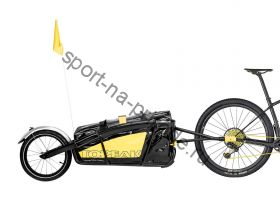 "TOPEAK JOURNEY TRAILER TX ALUMINUM MAIN FRAME W/WATERPROOF BAG W/16"" WHEEL/REAR велоприцеп"
