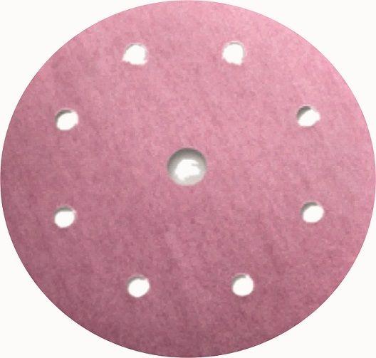 Sia 1950 Siaflex Абразивные круги, 9 отверстий, 125мм., P500, (пачка 100 шт.)