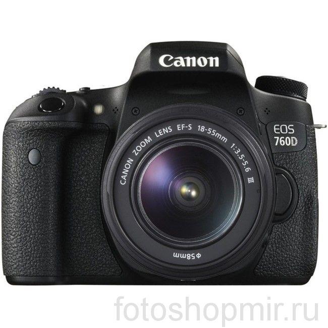 Canon EOS 760D Kit 18-55MM III