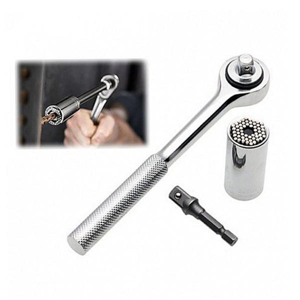 Универсальный торцевой гаечный ключ 7-19 мм Tools All Grip