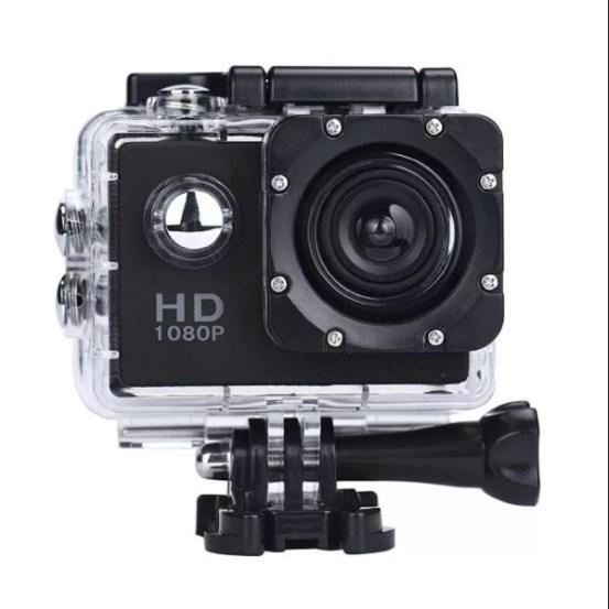 Экшн-камера Sports HD DV, цвет черный