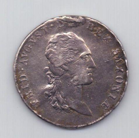 2/3 талера 1810 года Редкий год Саксония Германия
