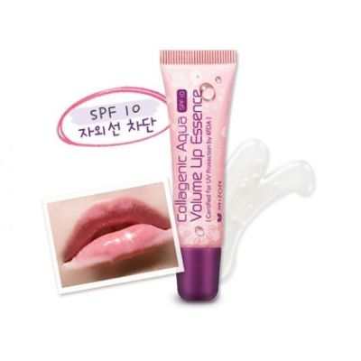 Бальзам для губ с коллагеном MIZON SPF10 COLLAGENIC AQUA VOLUME LIP ESSENCE 10мл