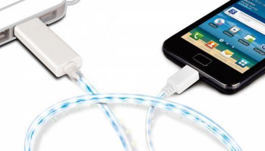 Кабель USB Орбита TS-3032 (microUSB) 80см LED