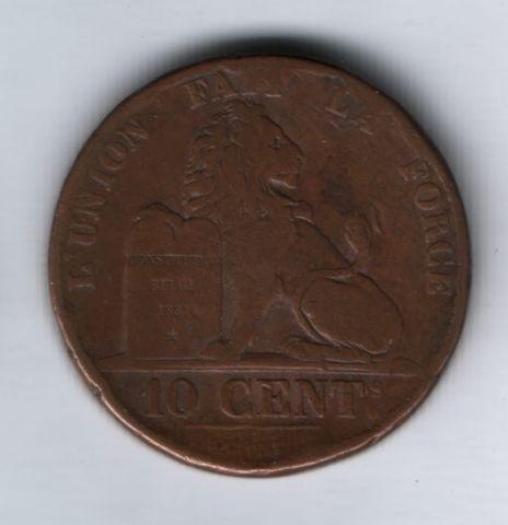 10 сантимов 1832 года Бельгия