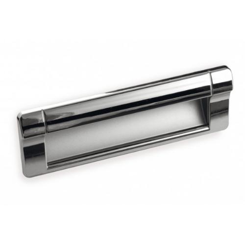 Ручка раковина FR-006 128 Cr матовый/St светлый(ТЗ)
