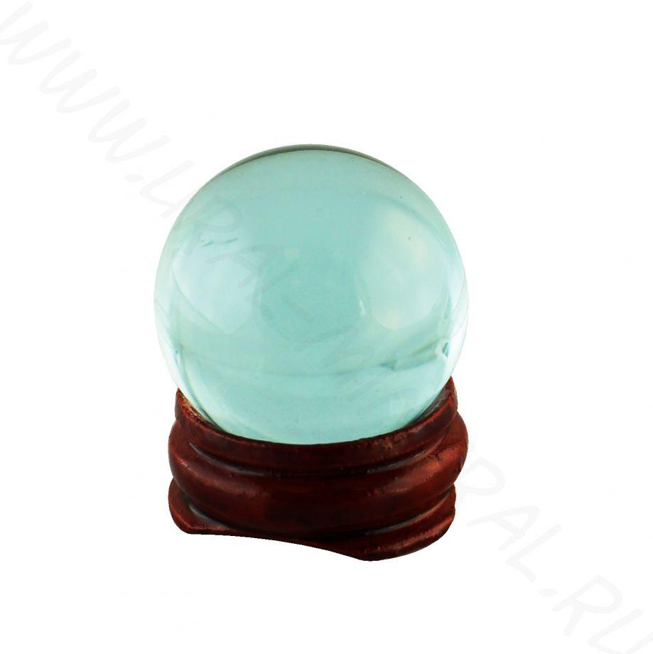 Шар (30 мм) - Обсидиан голубой