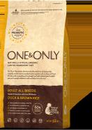 ONE&ONLY Утка с рисом Все породы 1кг