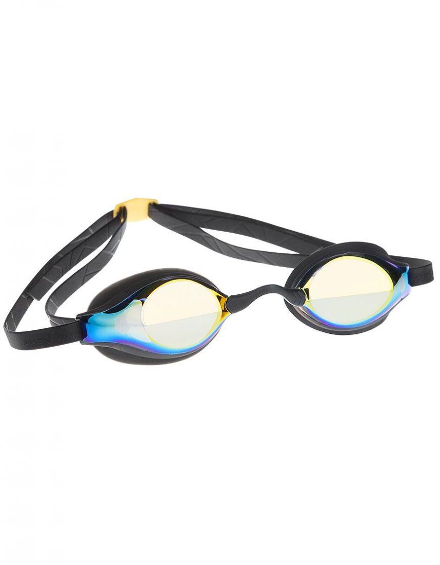 Очки для плавания стартовые Mad Wave Record breaker Mirror