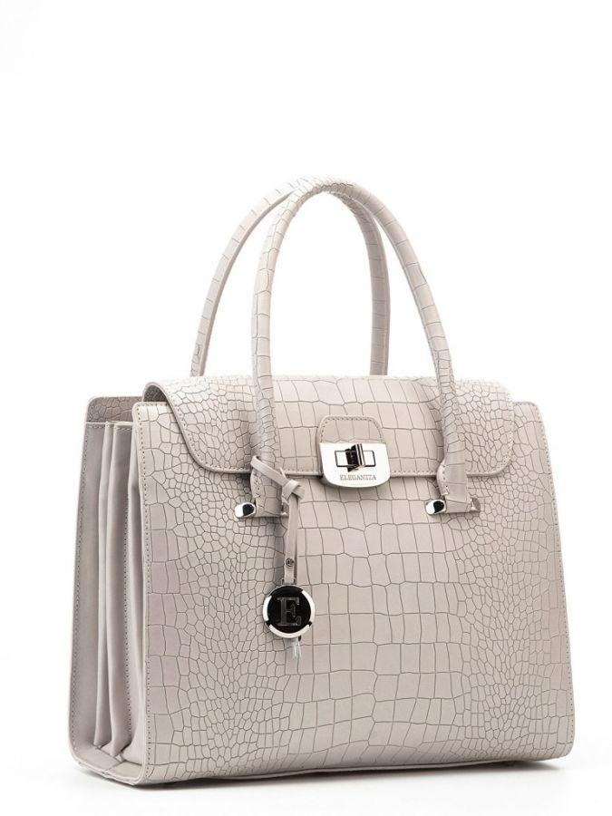 Деловая сумка Eleganzza Z20-138 l.grey-beige
