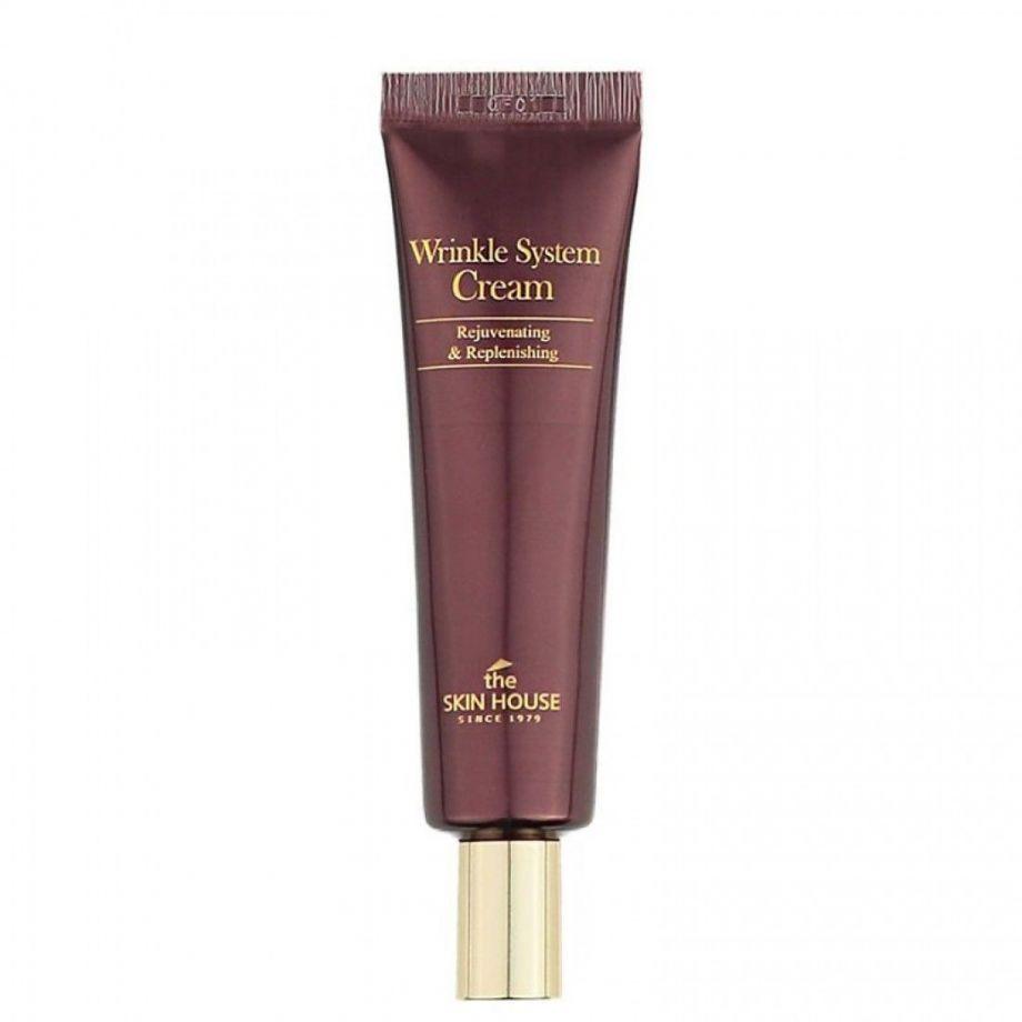 Антивозрастной коллагеновый крем для лица The Skin House Wrinkle System Cream, 30ml