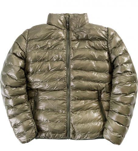 Однотонная стеганая куртка для мальчика 9-14 лет Bonito OP0431