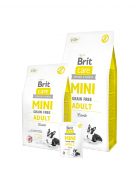 Brit Care Mini Grain Free Adult для взрослых собак миниатюрных пород 400г