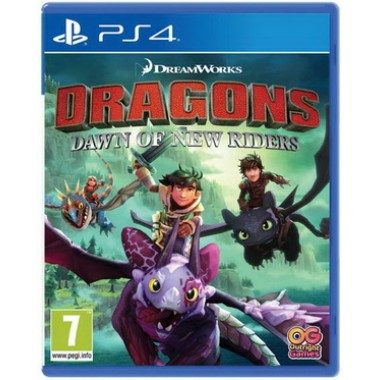 Игра Dragons: Dawn of New Riders (PS4)