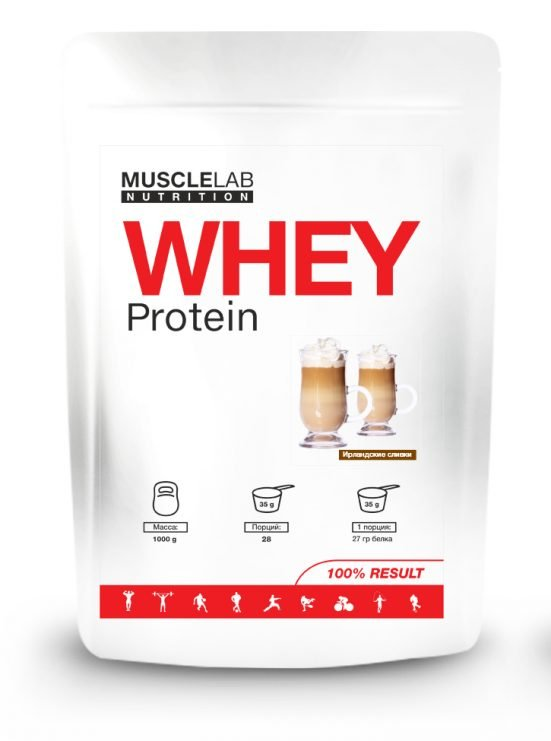 WHEY Protein от MuscleLab 1 кг