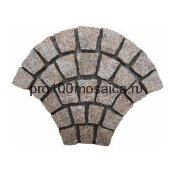 PAV-G-306 гранит. Брусчатка серия PAVING,  размер, мм: 740x460x30~40 (NS Mosaic)