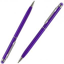 фиолетовые ручки со стилусом TouchWriter