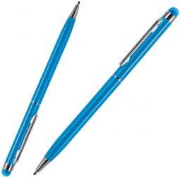 голубые ручки со стилусом TouchWriter