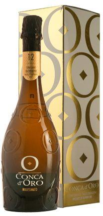 Conca d'Oro Prosecco Superiore Millesimato Conegliano Valdobbiadene Brut (gift box)